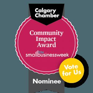 Community Impact Award vote espy