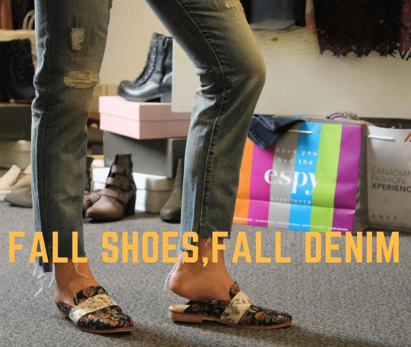 Fall Denim, Fall Shoes: Flats