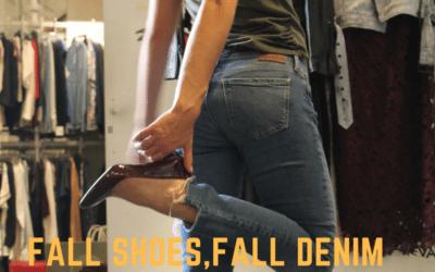 Fall Denim, Fall Shoes: Heels