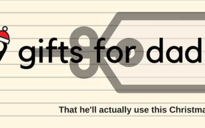 A gift for Dad that isn't socks and isn't a tie he'll never wear…