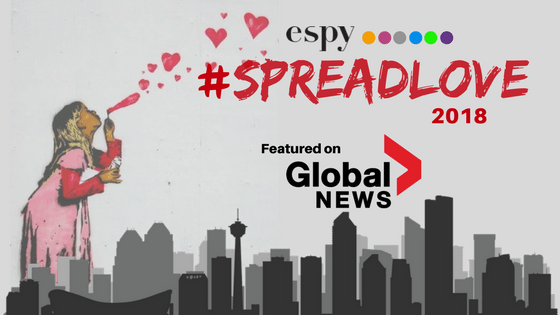 Global News Feature on Spread Love