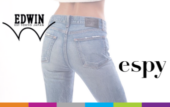 New to espy, Edwin Jeans.