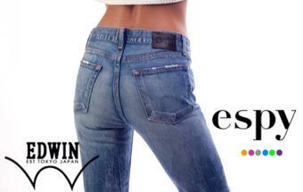 New to espy, Edwin Jeans.