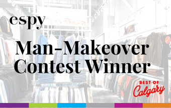 Best Of Calgary: Man-Makeover Winner!