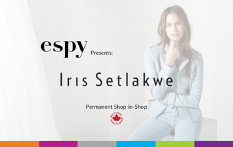 espy Welcomes Iris Setlakwe Shop-in-Shop