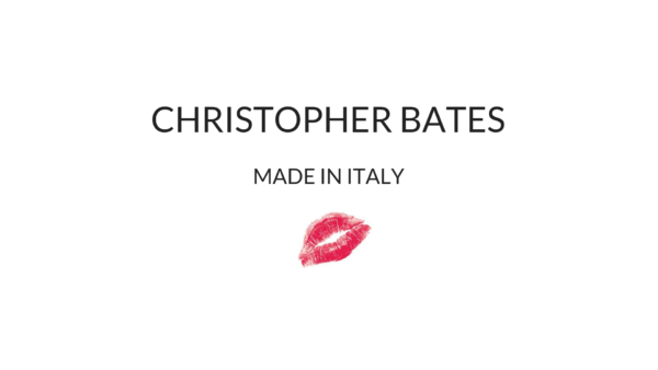 Christopher Bates MADE IN ITALY