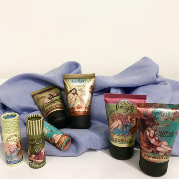 Barefoot Venus Creams + Lip Balms