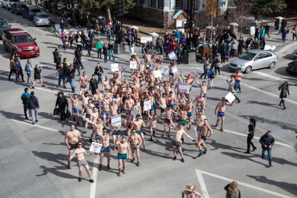 #nakedespy 2017 parade