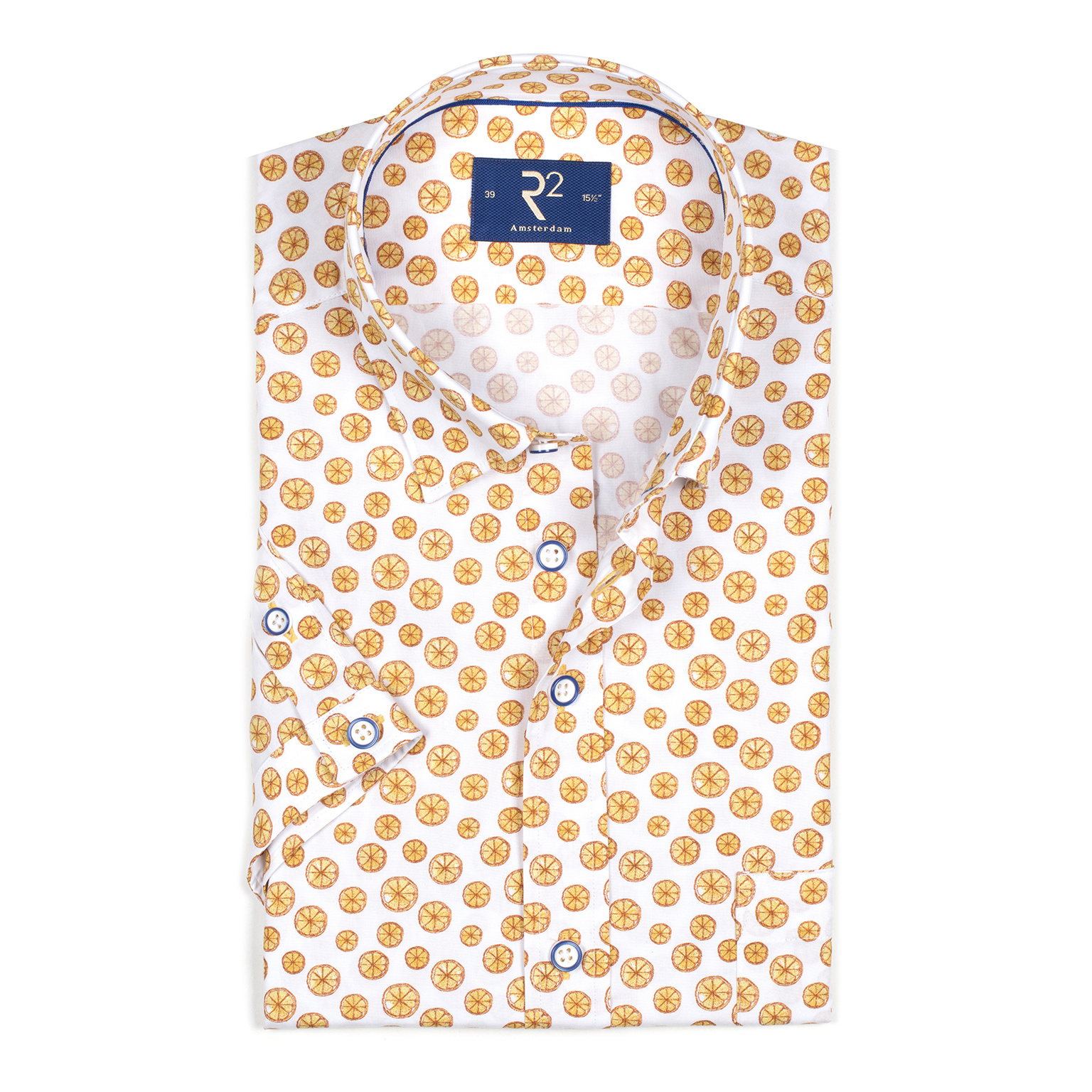 Spring Must-Have: R2 Printed Short Sleeve Shirt
