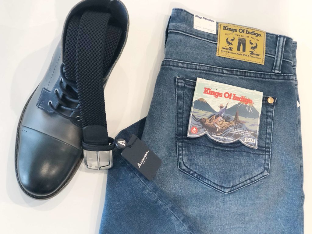 Celebrate Dad: Denim, Belt, Shoes
