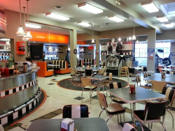 Kane's diner interior