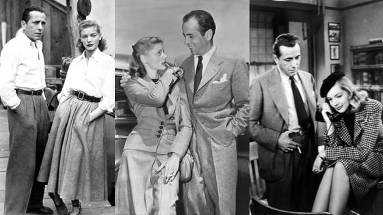 Bogart and Bacall Halloween Style