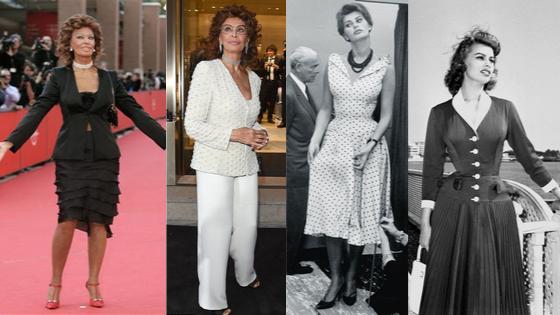 Sophia Loren Euro style