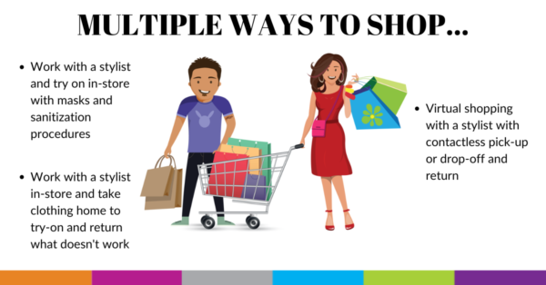 multiple ways to shop