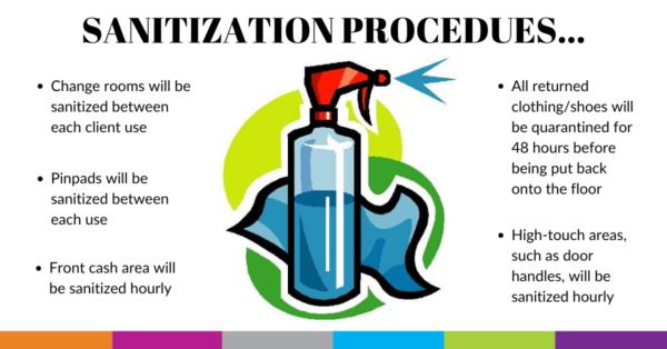 sanitization procedures