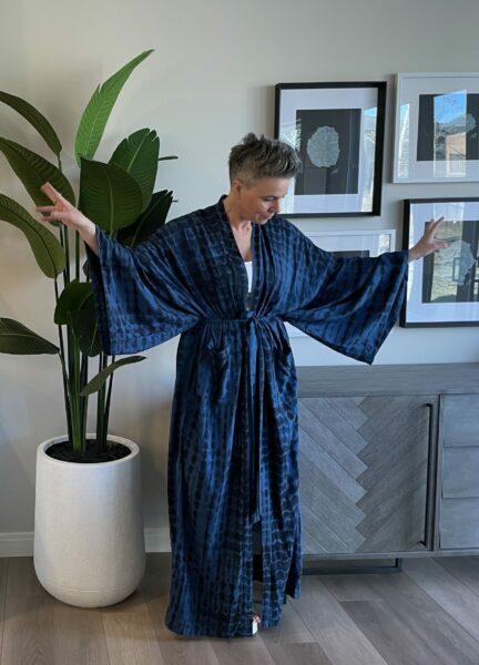Kim in espy The Label kimono